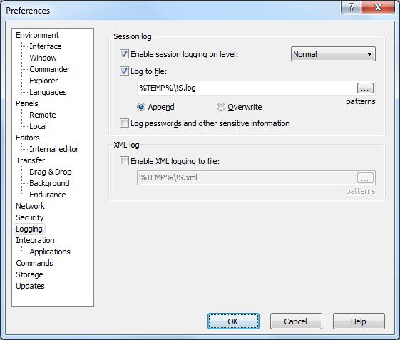 recover password winscp01