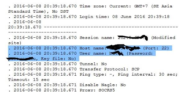 recover password winscp03
