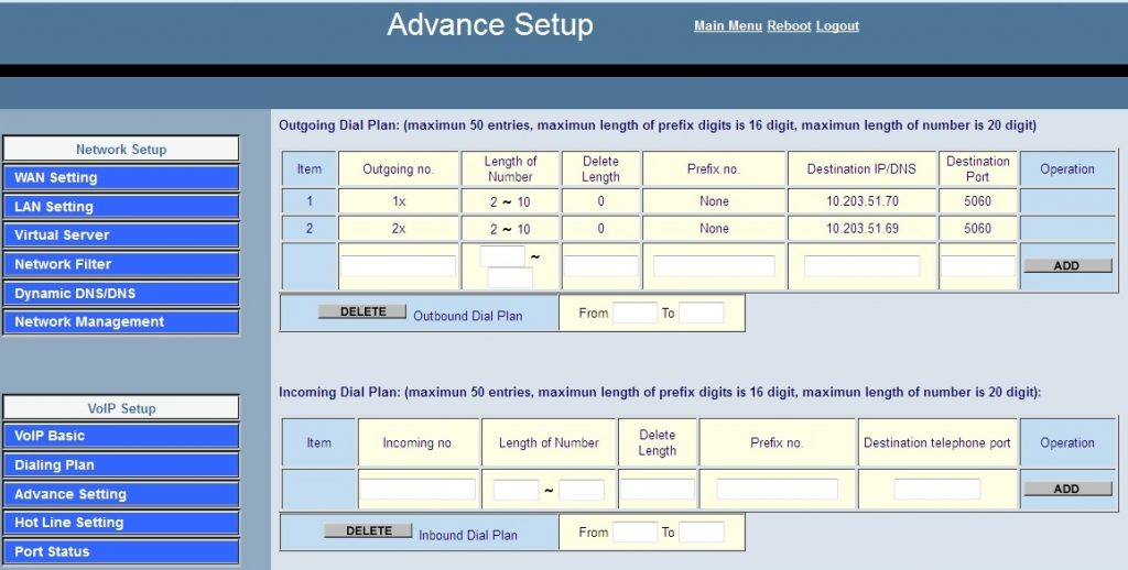 setting voip fxs soundwin02