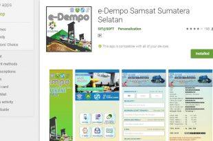 Bayar Pajak Kendaraan Palembang Online Dengan E-Dempo