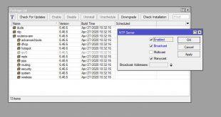Install dan setting NTP Server di Mikrotik